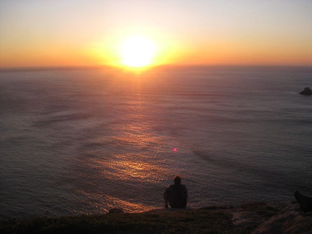 Sunset at the end of the world!